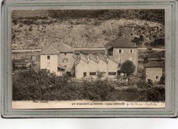 CPA - SAINT-VINCENT-de-RHINS (69) - Aspect De L'Usine Giraud  , Filature, Textile, En 1918 - France