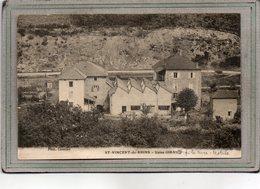 CPA - SAINT-VINCENT-de-RHINS (69) - Aspect De L'Usine Giraud  , Filature, Textile, En 1918 - Francia