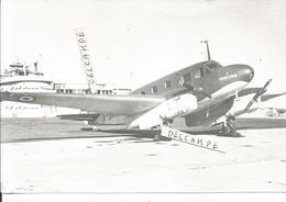 PHOTO AVION CAUDRON  VERCORS    A IDENTIFIER   11X17CM - Luchtvaart