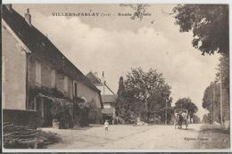 CPA - 39 - Villers Farlay  - Route De Dole - Villers Farlay