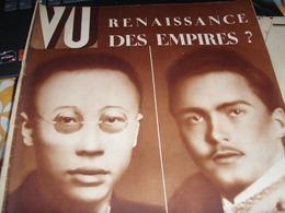 VU /POU YI OTTO DE HASBOURG /MARSEILLE /MAJOR FEY /REVOLUTION /MOSQUEE PARIS / AFFAIRE STAVISKY - Livres, BD, Revues