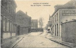Sint-Genesius-Rode  -  Rhode-St.-Genèse   *  Rue De L'Eglise  - Kerkstraat - Rhode-St-Genèse - St-Genesius-Rode