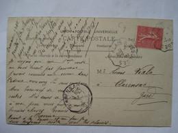 CONVOYEUR  ALES  A  BESSEGES   -   FILLETTE           TTB - Railway Post