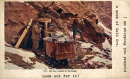 USA // EE. UU. LOOK OUT FOR IT! ONE CAR LOADED FOR THE DUMP. I AM SHIPPING YOU PREPAID A SACK OF GOLD ORE - Mineral