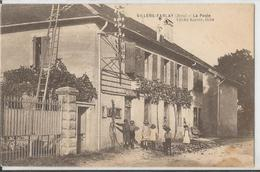 CPSM - 39 - Villers Farlay  - La Poste - Animée - Villers Farlay