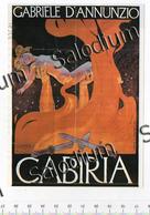 CABIRIA GABRIELE D'ANNUNZIO - Immagine Ritagliata Da Pubblicazione CROPPED IMAGE - Sin Clasificación