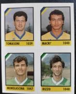Figurina Micro Calcio Vallardi 90-91 1991 Giarre Monopoli Numero 245 - Altri