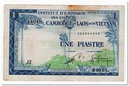 FRENCH INDO-CHINA,1 PIASTRE,1954,P.94,F - Indochina