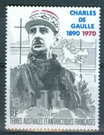 TAAF / DE GAULLE / TIMBRE PA N° 118 NEUF * * - Poste Aérienne