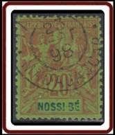 Nossi-Bé - N° 33 (YT) N° 33 (AM) Oblitéré. - Nossi-Be (1889-1901)