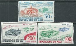 MALI  P. A.  N°  179 / 81 XX 50è Anniversaire Des 24 Heures Du Mans, Les 3 Valeurs Sans Charnière, TB - Mali (1959-...)