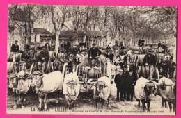 """CPA (Réf: Z 2577) (33 GIRONDE) PODENSAC La Maison """"LILLET' Recevant Un Convoi De Vins Blancs Du Sauternais   (animée) - France"""