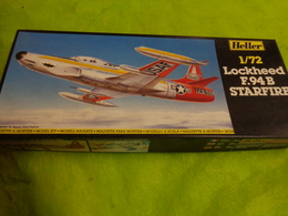 Maquette Avion Militaire-en Plastique----1/72 Heller Lockheed F 94 B Starfire Ref 302 - Flugzeuge