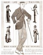 "PUB  "" HIGH-LIFE-TAILOR ""   1912 ( 15 ) - Mode"