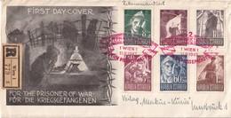 AUTRICHE 1947 FDC RECOMMANDE DE WIEN - FDC
