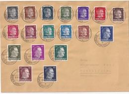 ALLEMAGNE POST OSTLAND 1942 LETTRE DE RIGA - Besetzungen 1938-45