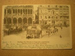 BRUSSEL - CORTEGE DES GEANTS ET LEGENDES POPULAIRES - ROS-BAYARD - ROS BEIAARD 1901 - Fiestas, Celebraciones