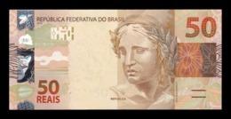 Brasil Brazil 50 Reais 2010 (2011) Pick 256b SC UNC - Brazil