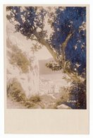 1926 KINGDOM OF SHS, CROATIA, KUPARI, BEACH, ILLUSTRATED POSTCARD, MINT - Croatie