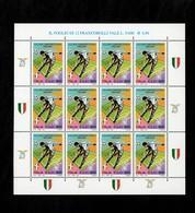 Italia 2000 Scudetto Alla Lazio Minifoglio - 6. 1946-.. Repubblica