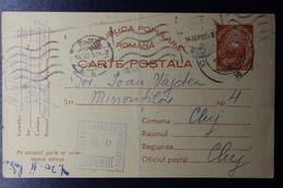 Romania Prison Camp Mail 1951 Cernauti CDS  DIRECTIUMEA GENEALAA PENITENCIARELOR NR 41 Camp Danube-Blacksea Canal - 1948-.... Republieken