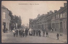 CPA Nord 59 -  HAZEBROUCK Rue De Merville - Hazebrouck