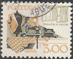 PIA  - 2005 : PORTOGALLO : 1980 : Strumenti Di Lavoro - Cultura Del Pret à Porter  - (Yv 1451) - Used Stamps