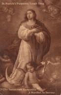 """The Immaculate Conceptio"" , St Patrick's Purgatory, Lough Derg. , 1954 - Saints"
