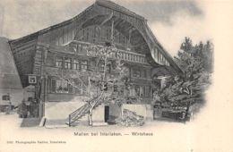 Interlaken (Suisse) - Matten Bei Interlaken - Wirtshaus - BE Berne