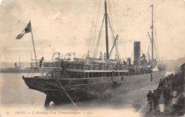 Oran (Algérie) - L'Accostage D'un Transatlantique - Oran