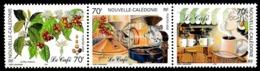 NOUV.-CALEDONIE 2002 - Yv. 869 870 Et 871 **   Faciale= 1,76 EUR - Le Café (3 Val. Se Tenant)  ..Réf.NCE25526 - New Caledonia