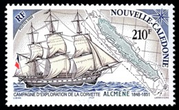 NOUV.-CALEDONIE 2002 - Yv. 872 **   Faciale= 1,76 EUR - Voilier Corvette Alcmène  ..Réf.NCE25527 - New Caledonia