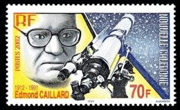 NOUV.-CALEDONIE 2002 - Yv. 874 **   Faciale= 0,59 EUR - Edmond Caillard, Médecin Et Astronome  ..Réf.NCE25529 - New Caledonia