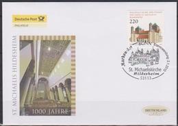 BRD FDC 2010 Nr.2779 UNESCO-Welterbe 1000 Jahre Michaeliskirche, Hildesheim ( D6212 )günstige Versandkosten - FDC: Briefe