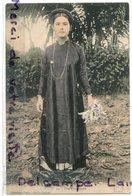 -24 - Indochine - Viet - Nam, Une Tonkinoise Trés Charmante, écrite, 1914, TBE, , Scans. - Viêt-Nam