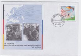 Germany Postal Stationary 21. Jahrhundert W/print Rückkehr Der Letzten Deutschen Kriegsgefangenen - Sobres Privados - Usados