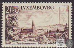 Luxemburgo 1955 Correo 495 */NH Servicio De Télé-Luxemburgo - Luxemburgo
