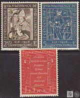 Luxemburgo 1958 Correo 542/44 ** 13º Centenario Del Nacimiento De San Willibror - Luxemburgo