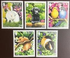 Jersey 2003 Pets Animals Birds MNH - Zonder Classificatie