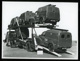 Original Photograph - Post Office Telephones - Transporter - C.1940s (22 X 16cm) - Photos