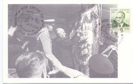 GIORNATA DELLA MAXIMAFILIA LANCIANO  1988 MAXIMUM POST CARD (GENN200527) - Esposizioni Filateliche