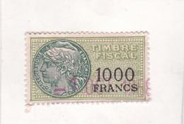 T.F.S.U N°308 - Revenue Stamps