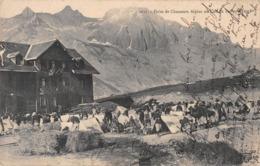 Militaria / 05 / Halte De Chasseurs Alpins Au Col Du Lautaret - Éd. Reynaud - Regimenten