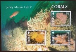 Jersey 2004 Marine Life Corals Minisheet MNH - Meereswelt