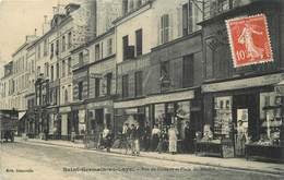 SAINT GERMAIN EN LAYE - Rue De Pologne Et Place Du Marché. - St. Germain En Laye