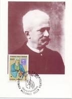 EDOARDO CHIOSSONE  INCISORE DELLA ZECCA  1988 MAXIMUM POST CARD (GENN200539) - Esposizioni Filateliche