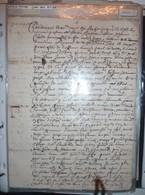Manuscrit / Contrat De Mariage Sous Louis XIV 1656 - Manuscripts
