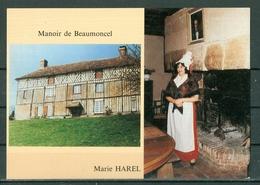 61 - CAMEMBERT - Manoir De Beaumoncel XVII° Siècle, Propriété Privée De La Famille D'ORVAL Ou A Vécu Marie HAREL - France