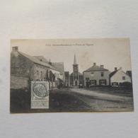 Denée-Maredsou - Place De L'Eglise - Envoyée  1911 - Anhée