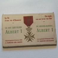 Marche Les Dames --  Carnet---Mort Du Roi Albert -10 CP. - Anhée